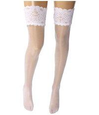 ウォルフォード Wolford レディース 女性用 ファッション 下着 ストッキング Satin Touch 20 Stay-Up Thigh Highs - White
