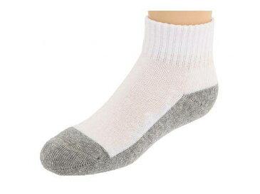 ジェフェリーズソックス Jefferies Socks 男の子用 ファッション 子供服 ソックス 靴下 Sport Quarter Half Cushion Seamless 6-Pair Pack (Infant/Toddler/Little Kid/Big Kid/Adult) - White/Grey