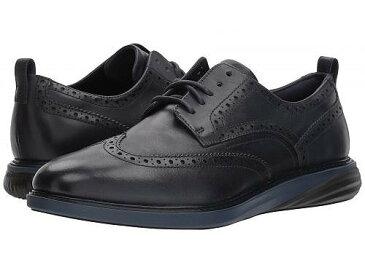 Cole Haan コールハーン メンズ 男性用 シューズ 靴 オックスフォード 紳士靴 通勤靴 Cole Haan コールハーン Grand Evolution Shortwing - Marine Blue/Black/Marine Blue