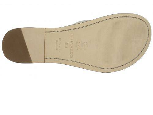 バーナード Bernardo レディース シューズ 靴 サンダル 女性用 Miami Sandal - White Calf/Luggage Calf