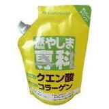 【クーポン獲得】【送料98円】燃やしま専科 クエン酸コラーゲン 500g