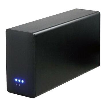 UNITCOM UNI-RAID35U3-BLACK 3.5インチSATAHDD2台搭載可能なUSB3.0接続ドライブケース