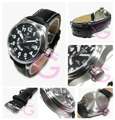 Aeromatic1912(エアロマティック1912)A1288GMTドイツミリタリーメンズウォッチ腕時計