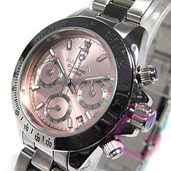 ANNE CLARK (Ann Clark) AM-1012VD-22/AM1012VD-22 chronograph pink lady Swatch watch