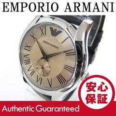 EMPORIOARMANI(エンポリオアルマーニ)AR1704Valente/バレンテレザーベルトゴールドダイアルメンズウォッチ腕時計