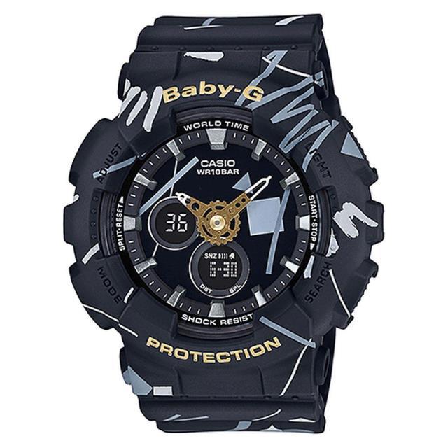 腕時計, レディース腕時計 CASIO BABY-G G BA-120SC-1ABA120SC-1A Graffiti :BA-120SC-1AJFBA120SC-1AJF