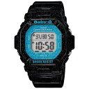 CASIO BABY-G カシオ ベビーG BG-5600GL-1/BG5600GL-1 Cosmic Face Series/コズミックフェイスシリーズ デジタル ブラック/ブルー レディース 腕時計 日本版型番:BG-5600GL-1JF/BG5600GL-1JF