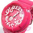 CASIO BABY-G (カシオ ベビーG) BGA-130-4B/BGA130-4B Neon Dial Series(ネオンダイアル) ピンク レディースウォッチ 腕時計