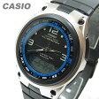 【メール便送料無料】CASIO(カシオ) AW-82-1A/AW82-1A デジタル アウトドア フィッシュギア ブラック×シルバー キッズ・子供 かわいい! メンズウォッチ チープカシオ 腕時計