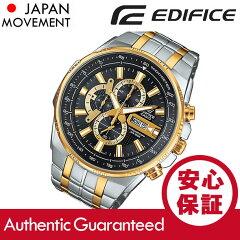 CASIOEDIFICE(カシオエディフィス)EFR-549SG-1A/EFR-549SG-1Aクロノグラフメタルベルトゴールド×シルバーコンビメンズウォッチ海外モデル腕時計