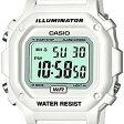 CASIO(カシオ) F-108WHC-7B/F108WHC-7B スタンダード デジタル ホワイト×ホワイトダイアル キッズ・子供 かわいい! ユニセックスウォッチ チープカシオ 腕時計