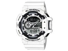 CASIOG-SHOCK(カシオGショック)GA-400-7A/GA400-7AHYPERCOLORS/ハイパーカラーズアナデジホワイト腕時計(日本版型番:GA-400-7AJF/GA400-7AJF)