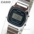【メール便送料無料】CASIO(カシオ) LA-670WA-2/LA670WA-2 スタンダード デジタル シルバー×ネイビー キッズ・子供 かわいい! レディースウォッチ チープカシオ 腕時計 【あす楽対応】