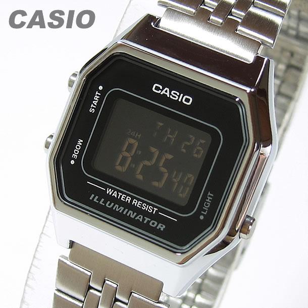 CASIO Digital watch CASIO LA-680WA-1BLA680WA-1B