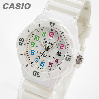CASIO (CASIO) LRW-200H-7B/LRW200H-7B sports gear military multi color index superimposing ladies watch watches