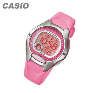 CASIO カシオ LW-200-4B/LW200-4B スタンダード デジタル ピンク キッズ 子供 かわいい レディース チープカシオ チプカシ 腕時計
