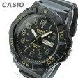 CASIO (カシオ) MRW-210H-1A2/MRW210H-1A2 スポーツギア ミリタリーテイスト ブラック×ゴールド キッズ・子供 かわいい! メンズウォッチ チープカシオ 腕時計【あす楽対応】