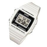 CASIO カシオ W-215H-7A/W215H-7A ベーシック デジタル ホワイト/ブラックインデックス キッズ 子供 かわいい メンズ チープカシオ チプカシ 腕時計 【あす楽対応】