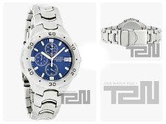 CITIZEN(シチズン)AN0950-53Lクロノグラフブルーダイアルメタルベルトメンズウォッチ腕時計