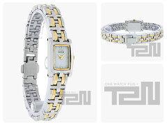 CITIZEN(シチズン)EG2344-51AEco-Drive/エコドライブSilhouette/シルエットメタルベルトゴールド×シルバーコンビレディースウォッチ腕時計