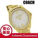 COACH (コーチ) 14501657 Tristen/トリステン マザーオブパール クリスタル装飾 メタルベルト ゴールド レディースウォッチ 腕時計