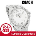 COACH (コーチ) 14501660 Tristen/トリステン クリスタル装飾 メタルベルト シルバー レディースウォッチ 腕時計