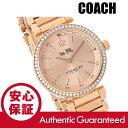COACH (コーチ) 14502200 1941 Sport/1941スポーツ クリスタル装飾 メタルベルト ローズゴールド レディースウォッチ 腕時計
