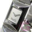 D&G TIME (ドルチェ&ガッバーナ) DW0322 TWEED/ツィード シルバー ブレス レディースウォッチ 腕時計【あす楽対応】
