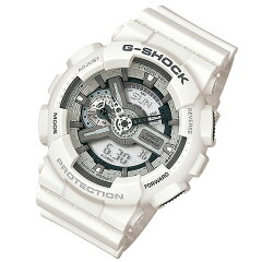 CASIOG-SHOCK(カシオGショック)GA-110C-7A/GA110C-7Aモノトーンホワイトアナデジメンズウォッチ腕時計【_包装選択】