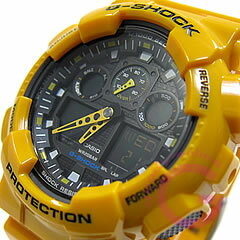 CASIO卡西歐G-SHOCK G打擊人手錶1/1000秒計測/速度測量/JIS1種耐磁GA-100A-9A海外/并進/返銷進口型號