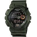 CASIO G-SHOCK カシオ Gショック GD-100MS-3/GD100MS-3 ミリタリーテイスト デジタル マルチタイム カーキー メンズ 腕時計 日本版型番:GD-100MS-3JF/GD100MS-3JF
