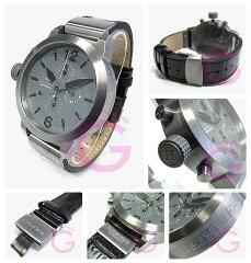 Haemmer(ヘンマー)HC45-28MANHATTANクロノグラフオーバーサイズ45mmメンズウォッチ腕時計