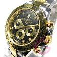 J.HARRISON(ジョンハリソン) JH-014DG 自動巻き ダイヤモンド8P ゴールド メンズウォッチ 腕時計