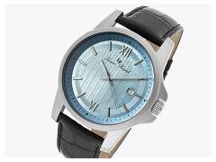 LUCIENPICCARD(ルシアンピカール)10048-012Breithorn/ブライトホルンブルーダイアルレザーベルトメンズウォッチ腕時計