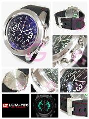 【世界限定生産】LUM-TEC(ルミテック)LZ6LUMZILLA/ルミジラクロノグラフMiyotaOS10ムーブメント搭載レッドステッチ腕時計