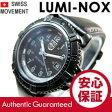 LUMINOX(ルミノックス) 7251BO/7251.BO Navy Seals Colormark/ネイビーシールズ カラーマーク ミリタリー ブラックアウト レザーベルト レディースウォッチ 腕時計