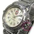 LUMINOX(ルミノックス) 7258 ≪T25表示≫ NAVY SEALS ネイビーシールズ カラーマーク メタルベルト ホワイト レディースウォッチ 腕時計