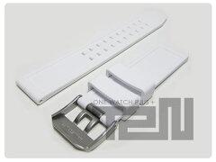 LUMINOX(ルミノックス)FP-3050-10-WH/FP.3050.10.WH純正替えベルト3057WOホワイトアウト用3900/3080/3050シリーズ他22mmウレタンラバーベルトホワイト腕時計用