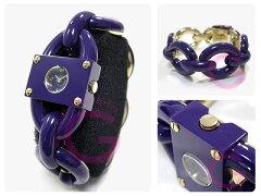 MARCBYMARCJACOBS(マークバイマークジェイコブス)MBM4528LeahChain/リアチェーン大人かわいい!ブレスウォッチパープルレディース腕時計
