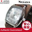 NEMESIS(ネメシス) Leather Cuff/レザーカフウォッチ BFXB017S アメリカンカジュアル メンズウォッチ 腕時計