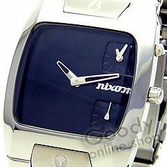 BANKS in NIXON (Nixon banks) A060-000 BLACK / black mens watch