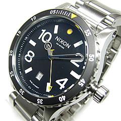 NIXON(ニクソン)DIPLOMATSSディプロマット45mm腕時計A277-000/A277000GMTブラックメンズウォッチ