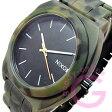NIXON TIME TELLER ACETATE(ニクソン タイムテラー アセテート) A327-1428/A3271428 カモ 迷彩 ラバーベルト ユニセックスウォッチ 腕時計