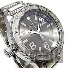 NIXON THE 51-30 TI (Nixon) A351-703/A351703 300 m water resistant titanium material Ronda 513AIG6 movement with titanium メンズウォッチウォッチ watch