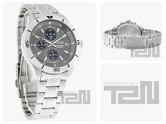 SEIKO(セイコー)SKS407クロノグラフグレーダイアルメタルベルトメンズウォッチ腕時計