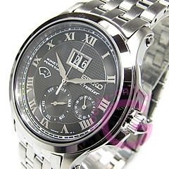 SEIKO ( Seiko ) SNP041P Premier / Premier kinetic perpetual calendar black mens watch