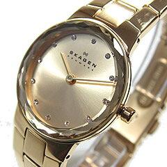 SKAGEN(スカーゲン) SKW2073 ウルトラスリム メタルベルト ゴールド レディースウォッチ 腕時計 ...