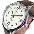 【メール便送料無料】TIMEX(タイメックス) T28201 BIG EASY READER/ビッグイージーリーダー レザーベルト クリーム メンズウォッチ 腕時計