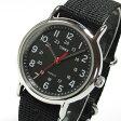 【メール便送料無料】TIMEX(タイメックス) T2N647 Weekender/ウィークエンダー セントラルパーク フルサイズ ブラック ミリタリー メンズウォッチ 輸入品 腕時計 【あす楽対応】