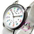 【メール便送料無料】TIMEX(タイメックス) T2N837 Weekender/ウィークエンダー セントラルパーク ミッドサイズ ホワイト メンズウォッチ 腕時計